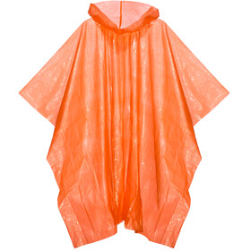 CAMPZ Notfall Poncho orange